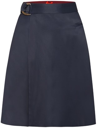 Wrap Skirt No. 904 blue