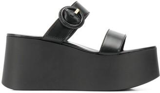 Gianvito Rossi Platform Open-Toe Sandals