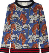 Gucci Tiger Cotton Sweatshirt
