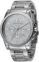 Armani Exchange Ax2058 Chronograph Date Bracelet Strap Watch, Silver