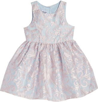 Pippa & Julie Lacy Sleeveless Party Dress