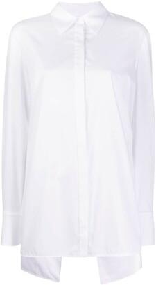 Victoria Victoria Beckham Open-Back Shirt