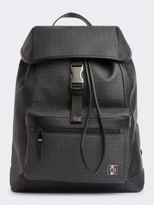 Tommy Hilfiger Flap Closure Computer Backpack