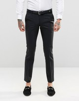 Noose & Monkey Suit Trousers With Stretch In Skinny Fit