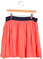 Little Marc Jacobs Girls' Button-Accented Mini Skirt