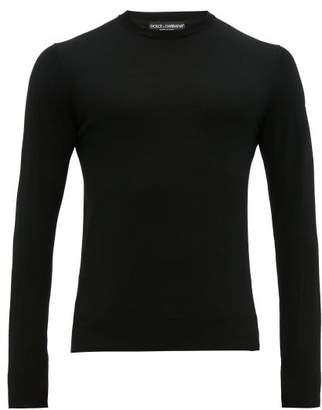 Dolce & Gabbana Virgin Wool Sweater - Mens - Black