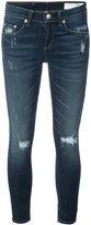 Rag & Bone Jean - cropped jeans - women - Cotton/Polyurethane/Lyocell/Bemberg - 24