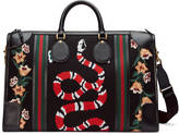 Gucci Needlepoint duffle bag with Web