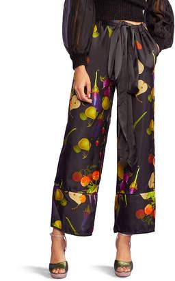 Cynthia Rowley Bianca Printed Jogger Pants