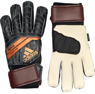 adidas Predator 18 Fingersave Replique Goalkeeper Gloves Black/Solar Red/Copper Gold
