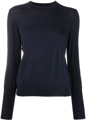 Roseanna Long-Sleeve Fitted Jumper