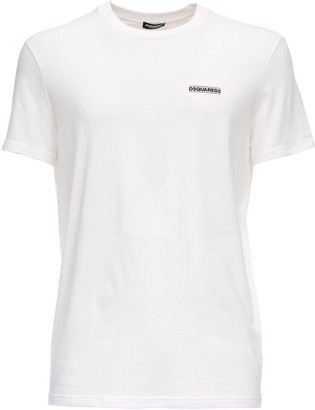 Dsquared2 Underwear Printed Cotton Jersey T-shirt