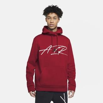 Nike Men's Graphic Training Fleece Hoodie Jordan Air Therma