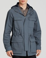 Armani Collezioni Drawstring Hooded Jacket