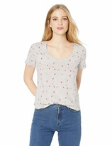 Lucky Brand Women's Allover Printed DICE TEE