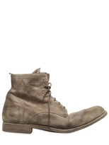 Officine Creative 30 Mm Soft Washed Leather Boots