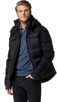 Tommy Hilfiger Wool Blend Puffer Jacket