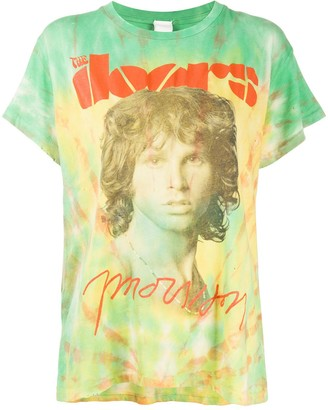 MadeWorn The Doors Morrison tie-dye T-shirt