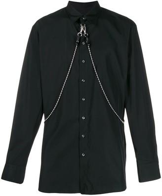 DSQUARED2 chain detail shirt