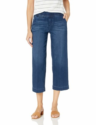 Jag Jeans Women's Eliana Wide Pull on Crop Trouser
