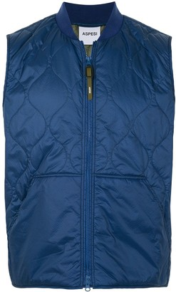 Aspesi Quilted Shell Jacket