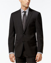 Calvin Klein X-Fit Charcoal Solid Extra Slim Fit Jacket