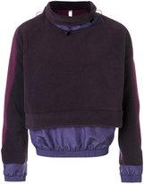 Cottweiler drawstring layered jumper