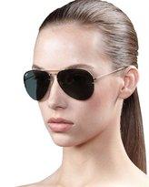 Light Ray Aviator Sunglasses