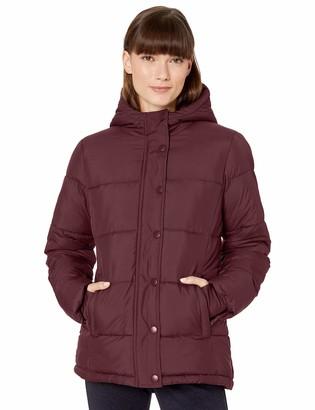 Amazon Essentials Women's Standard Heavy-Weight Hooded Puffer Coat