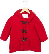 Burberry Boys' Hooded Wool Coat