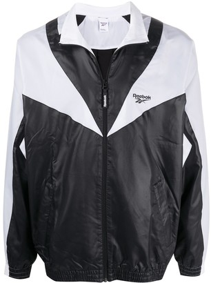 Reebok Twin Vector panelled track jacket