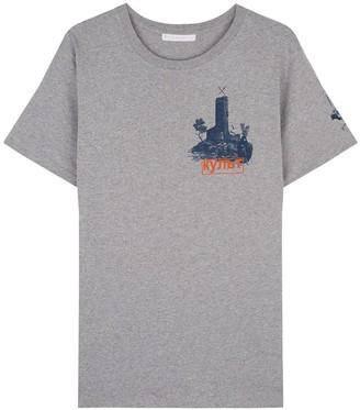 Klements Cult Printed T-Shirt Grey Marl