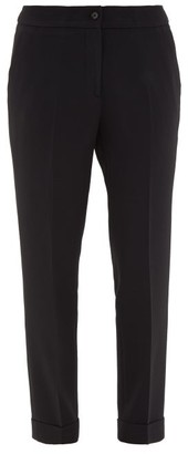 Etro Milano Turn-up Cuff Cady Trousers - Womens - Black