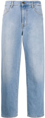 Pinko Cropped Boyfriend Jeans