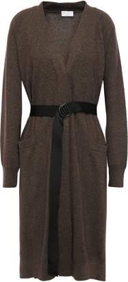Brunello Cucinelli Belted Cashmere-blend Cardigan
