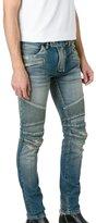 Balmain Men's Poht551c710v155 Blue Cotton Jeans
