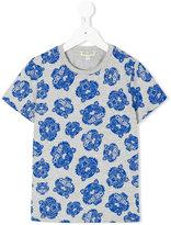 Kenzo tiger print T-shirt - kids - Cotton/Polyester - 8 yrs