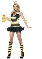 Leg Avenue Women's 4 Piece Daisy Bee Costume