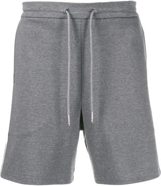 Thom Browne Grey Mid-thigh Shorts
