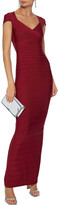 Thumbnail for your product : Herve Leger Cutout Bandage Gown