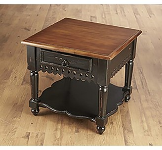 Wildon Home End Table Color: Distressed Antique Black