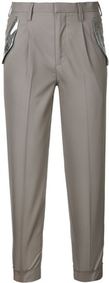 Kolor Slim-Fit Cigarette Trousers
