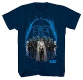 Star Wars Boys' Dark Side Group Shot T-Shirt - Navy