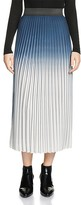 Maje Jonael Pleated Ombré Skirt