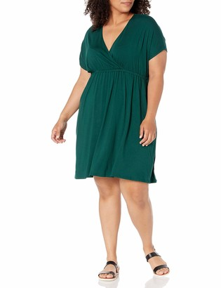 Amazon Essentials Women's Plus Size Surplice Dress