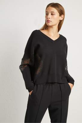 French Connection Valerie Lace Knit Jumper