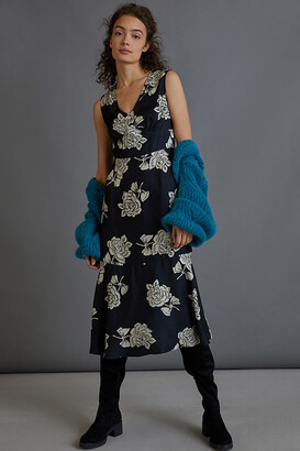 Elisabeth Maxi Dress By Hope for Flowers by Tracy Reese in Black Size XS