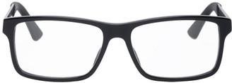 Gucci Black and Gunmetal GG0692O Glasses