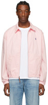 Polo Ralph Lauren Pink Bayport Windbreaker Jacket