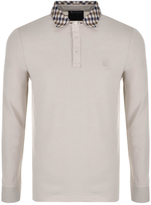 Aquascutum London Nathan Polo T Shirt Beige